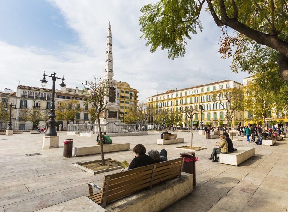 Malaga, Spain. Plaza de la Merced
