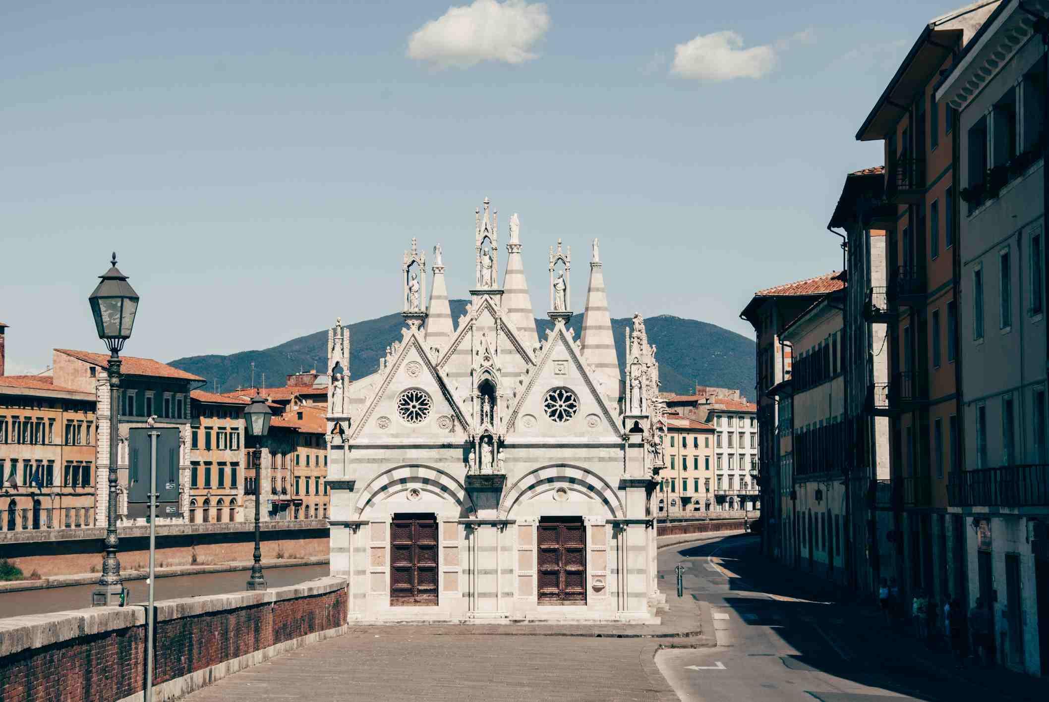 The church of Santa Maria della Spina, Pisa