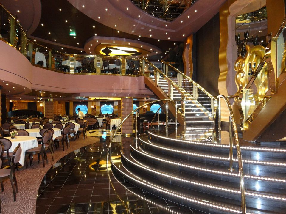 The Black Crab Restaurant on the MSC Divina