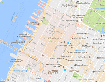 Map Of Midtown New York.New York City Midtown East Neighborhood Map