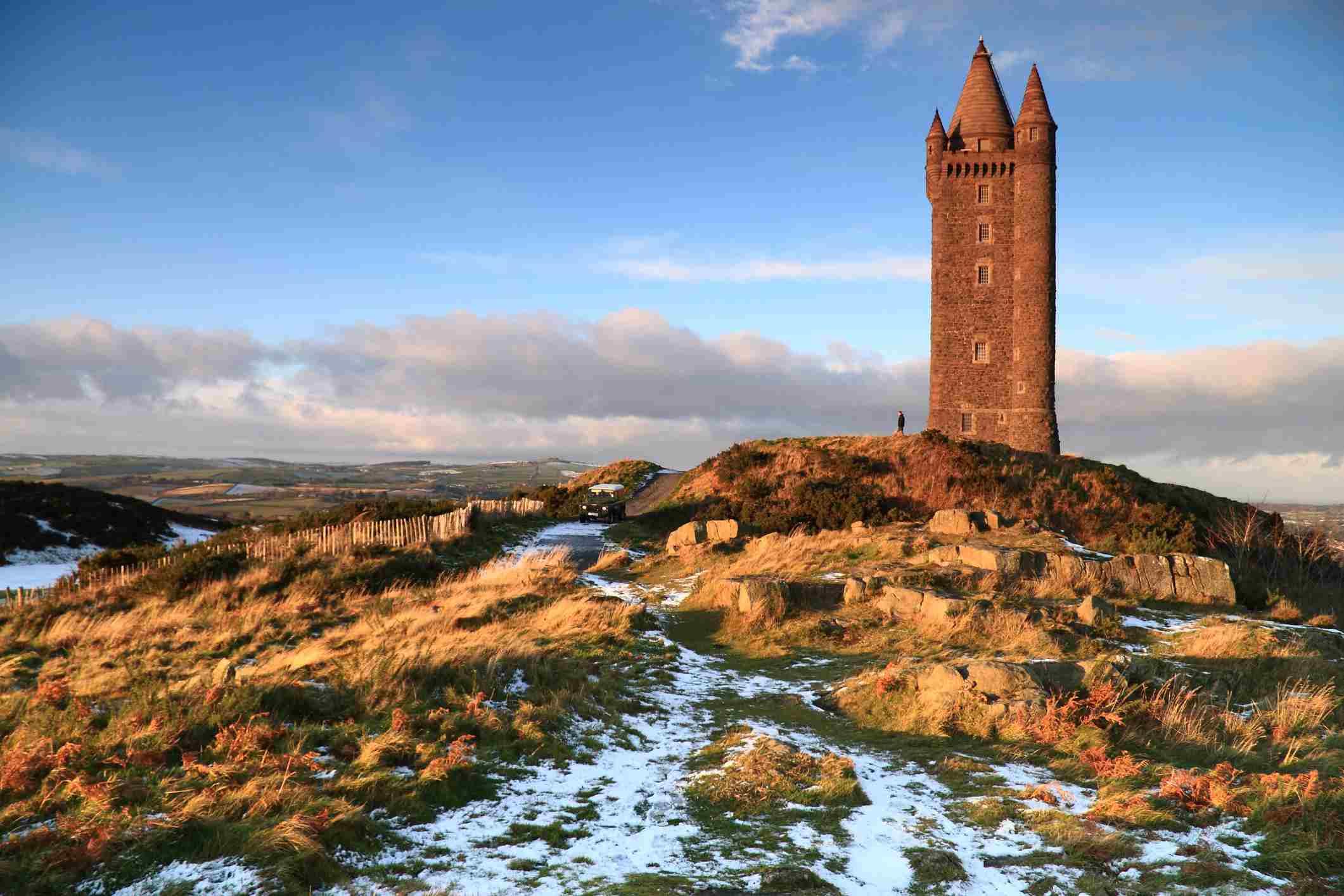 Scrabo Tower Newtownards, County Down, Northern Ireland,