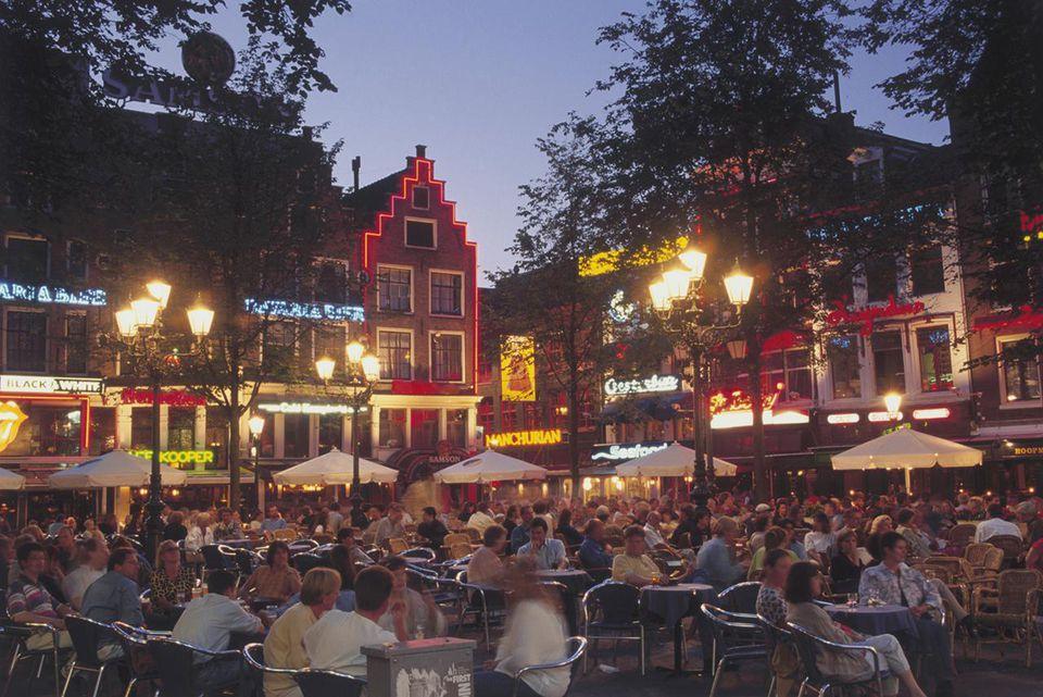 Nightlife in Dutch Square