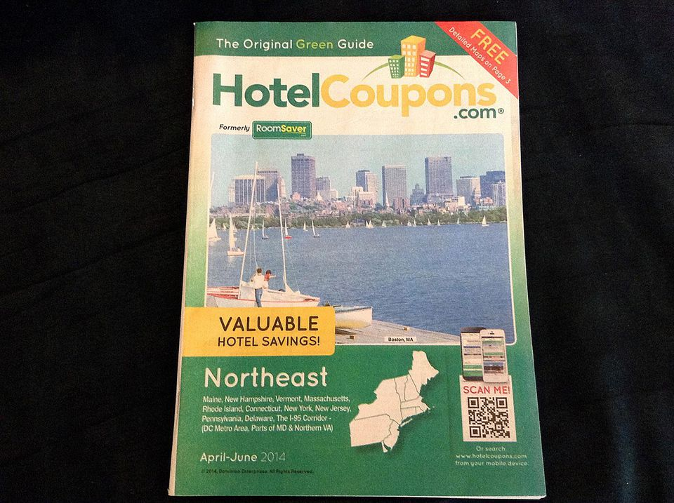 Hotel Coupons Book for New England