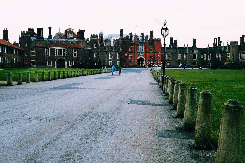 Road Leading Towards Hampton Court Palace