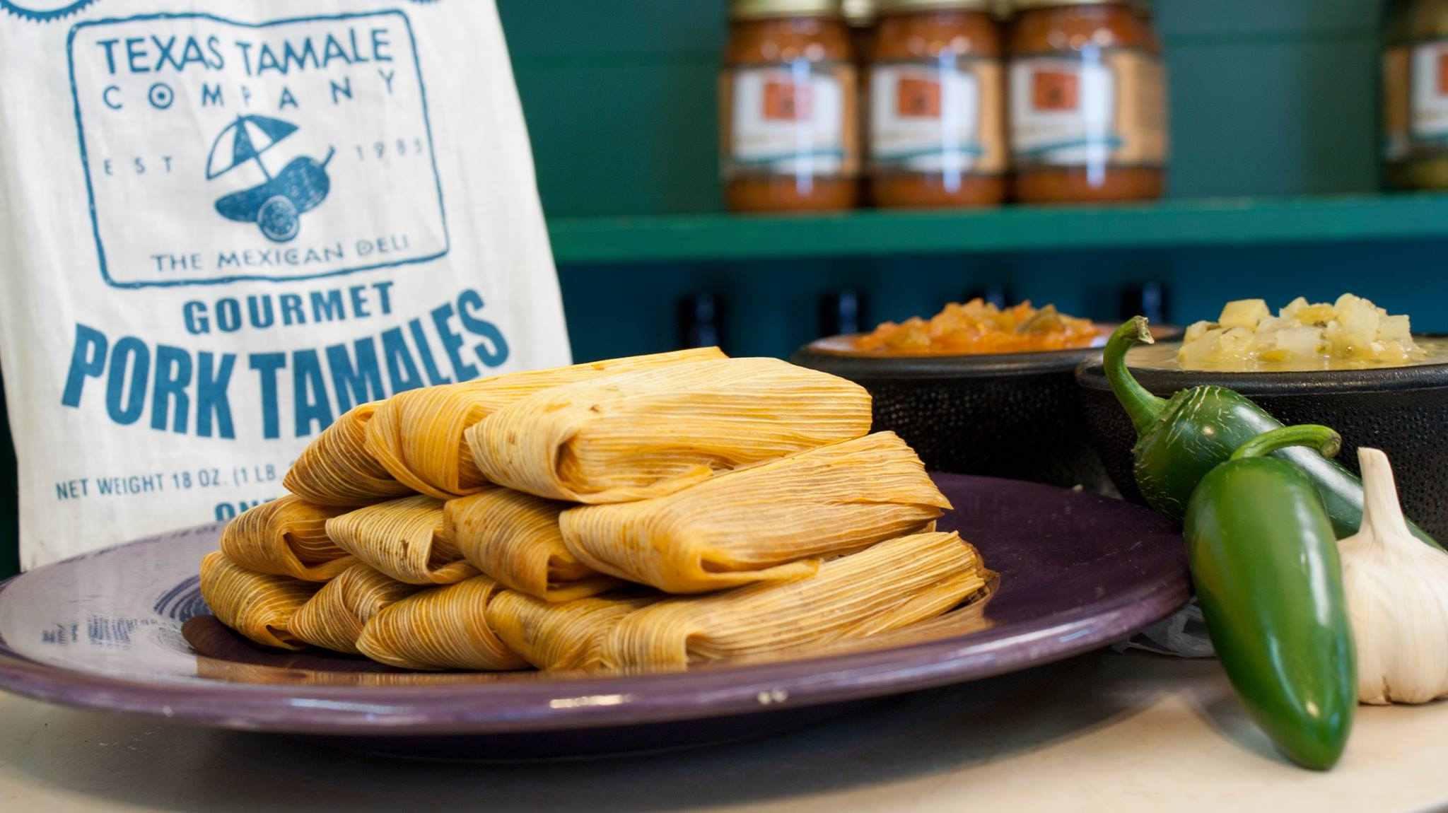 Texas Tamale Company tamales