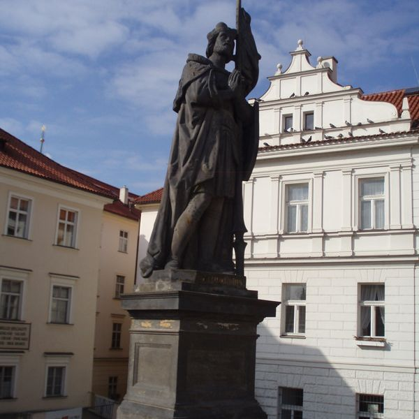 San Wenceslao en el Puente de Carlos de Praga