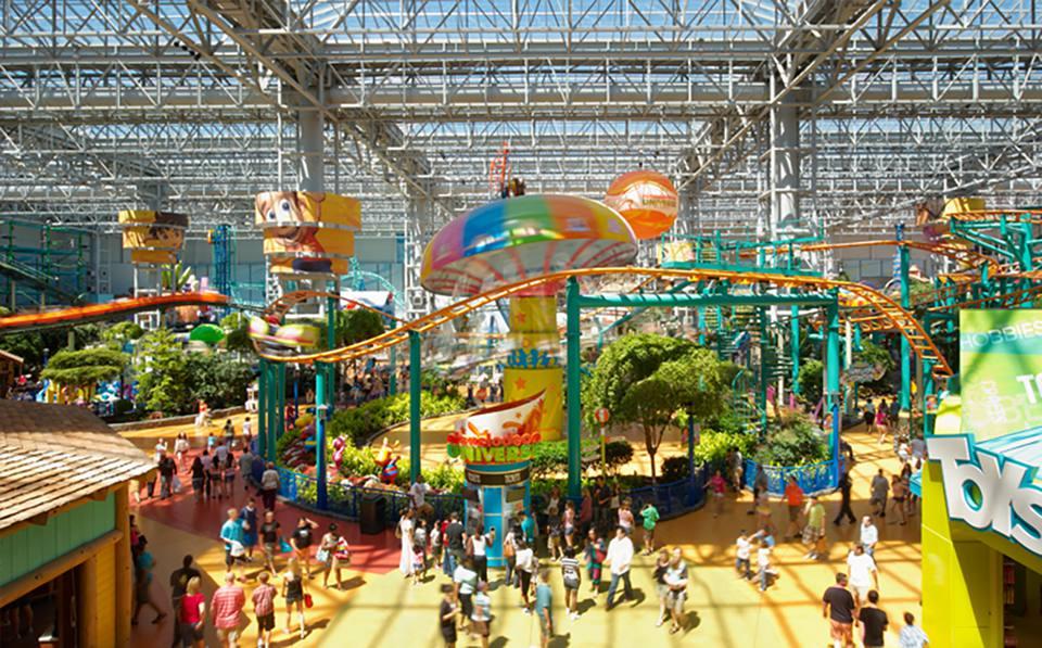 Nickelodeon Universe en Mall of America Minnesota