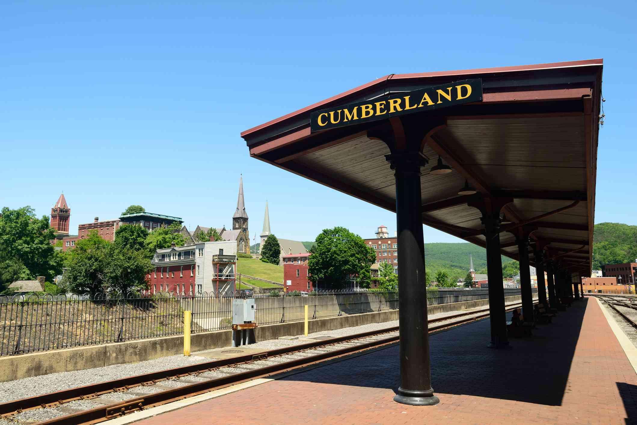 Western Maryland Railway Station in Cumberland