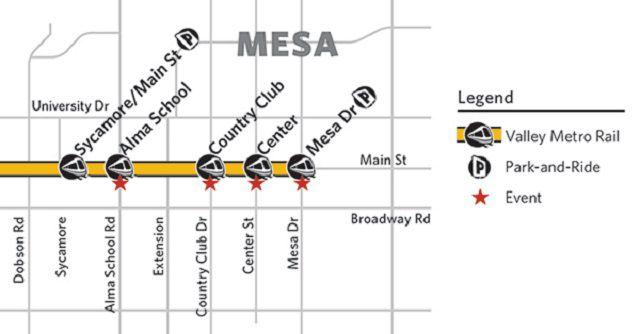 valley metro light rail expansion map