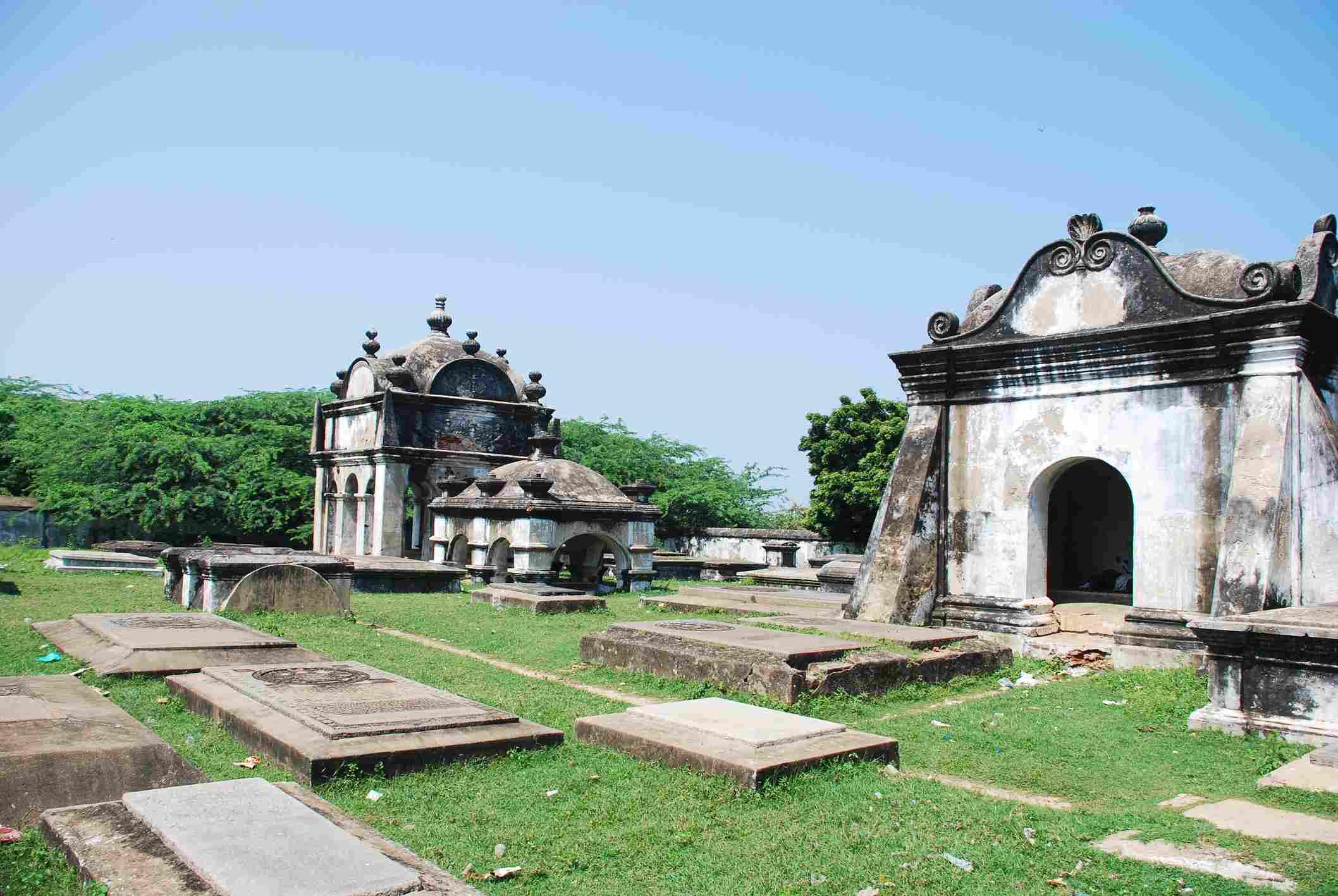Dutch Cemetery at Pulicat.