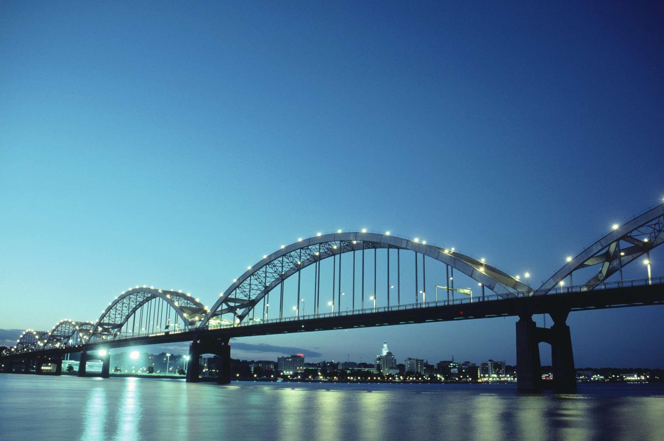 Centennial Bridge, Davenport, Iowa