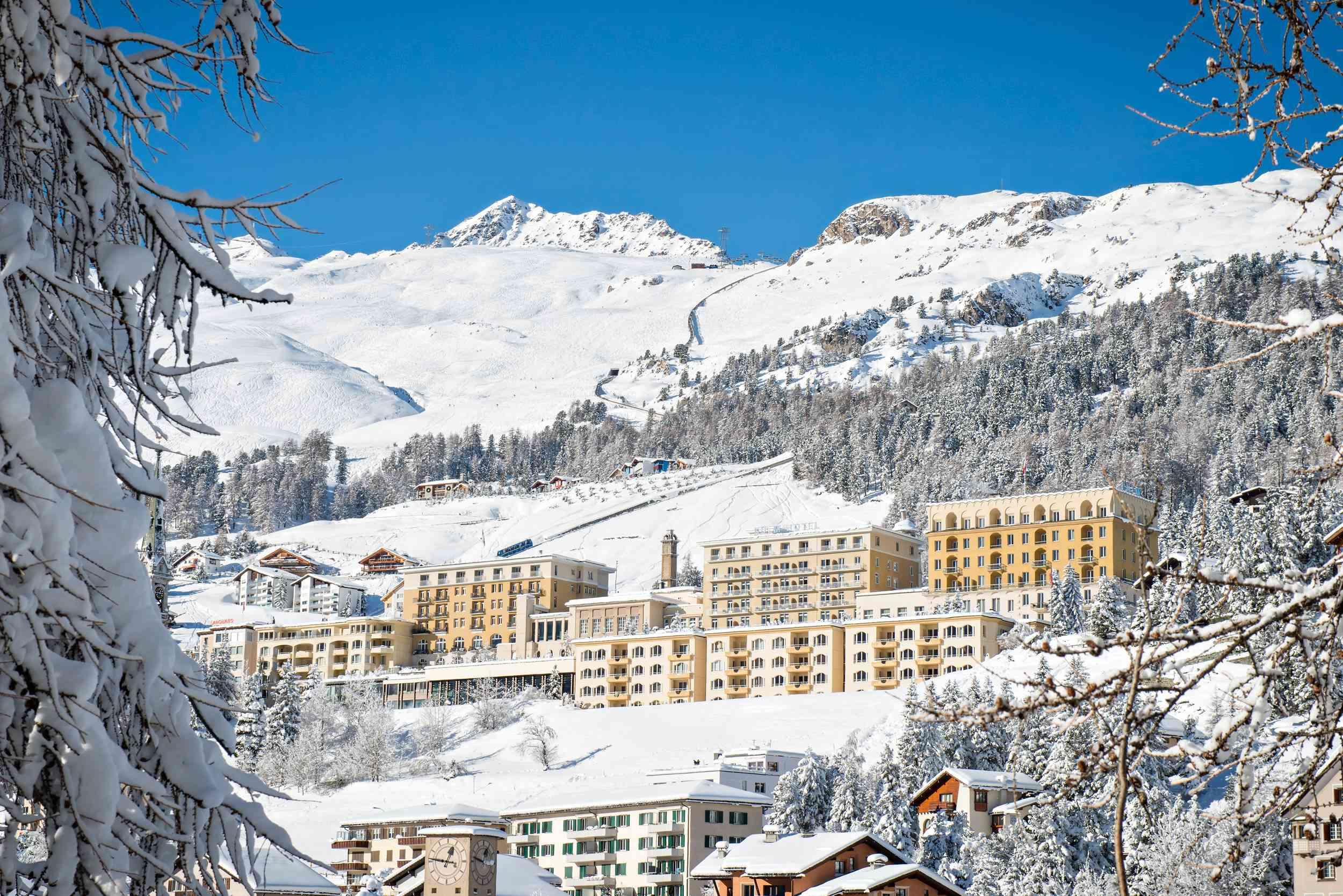 Kulm Hotel winter