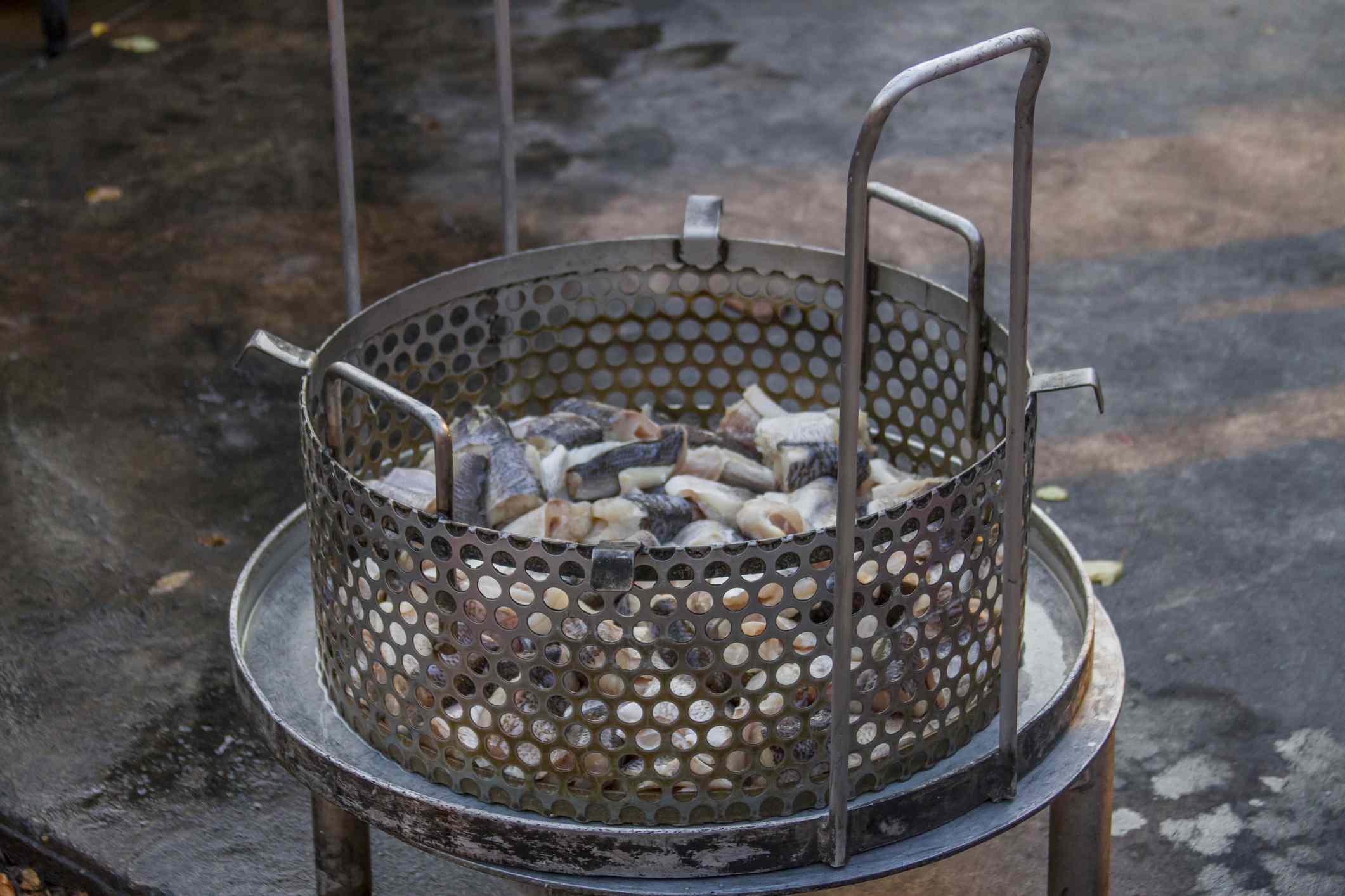 pescado blanco listo para cocinar