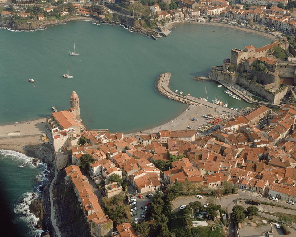 Collioure in Languedoc-Roussillon