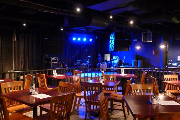Gypsy Sally's venue space in Georgetown
