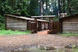 Fort Clatsop In Oregon