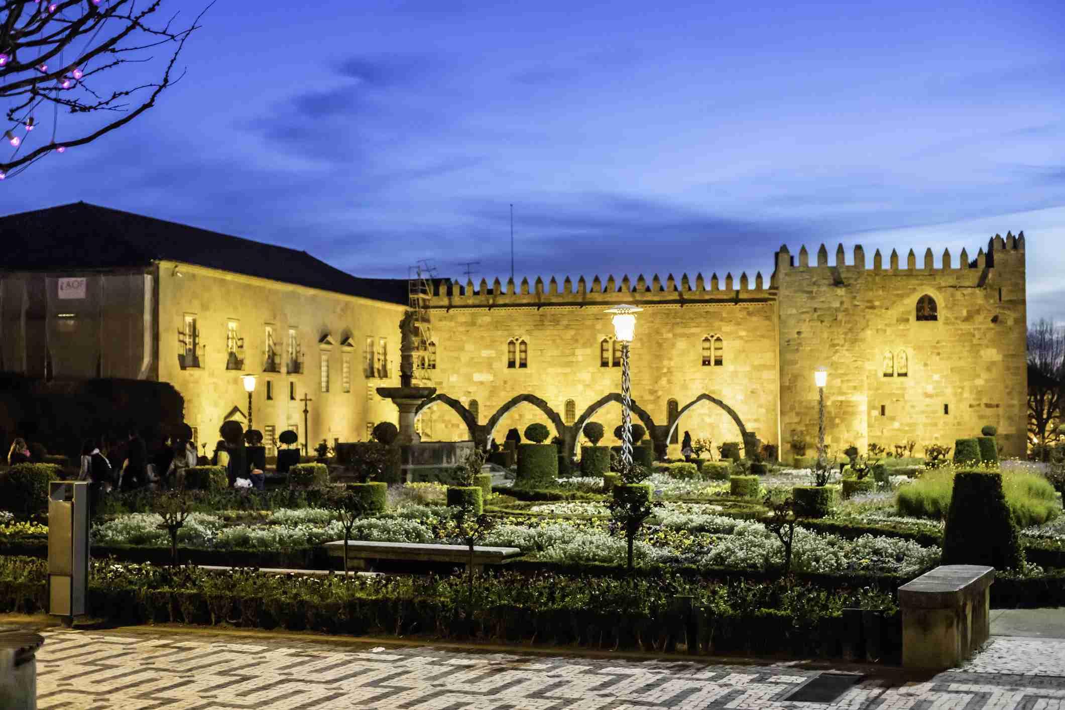 Santa Barbara garden, Braga