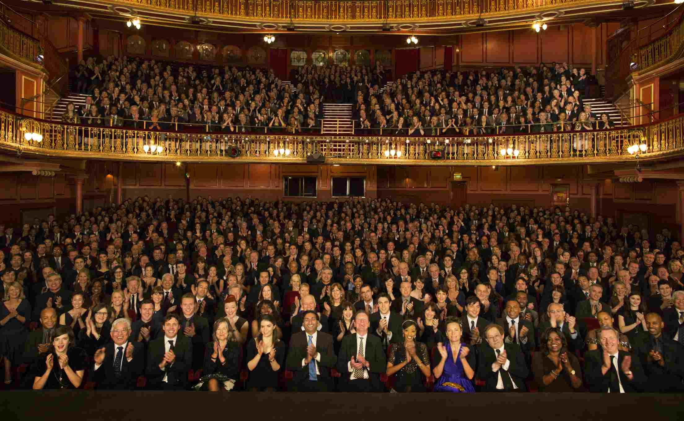 London Theaterpublikum