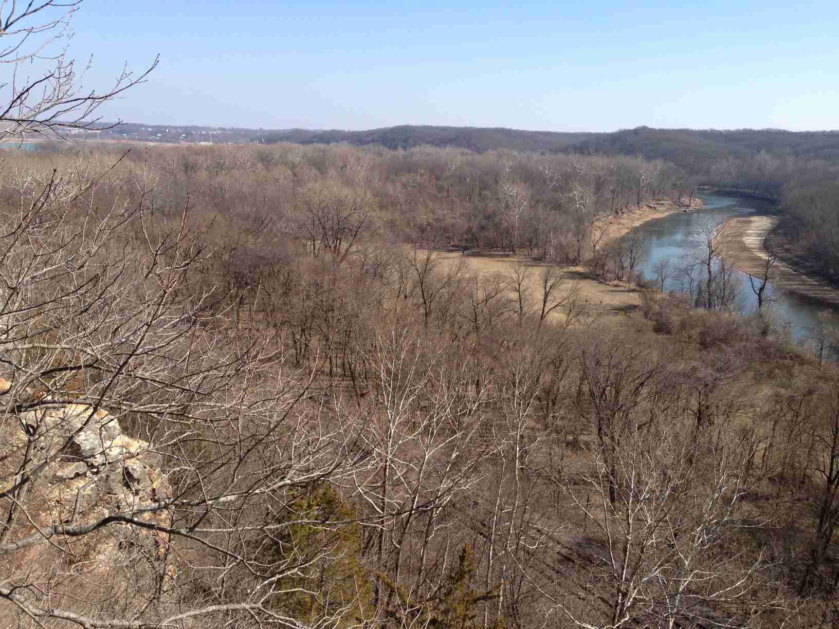 Castlewood State Park in Ballwin, MO