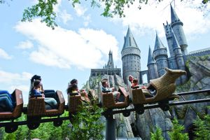 Universal Orlando Harry Potter Hogsmeade Flight of the Hippogriff