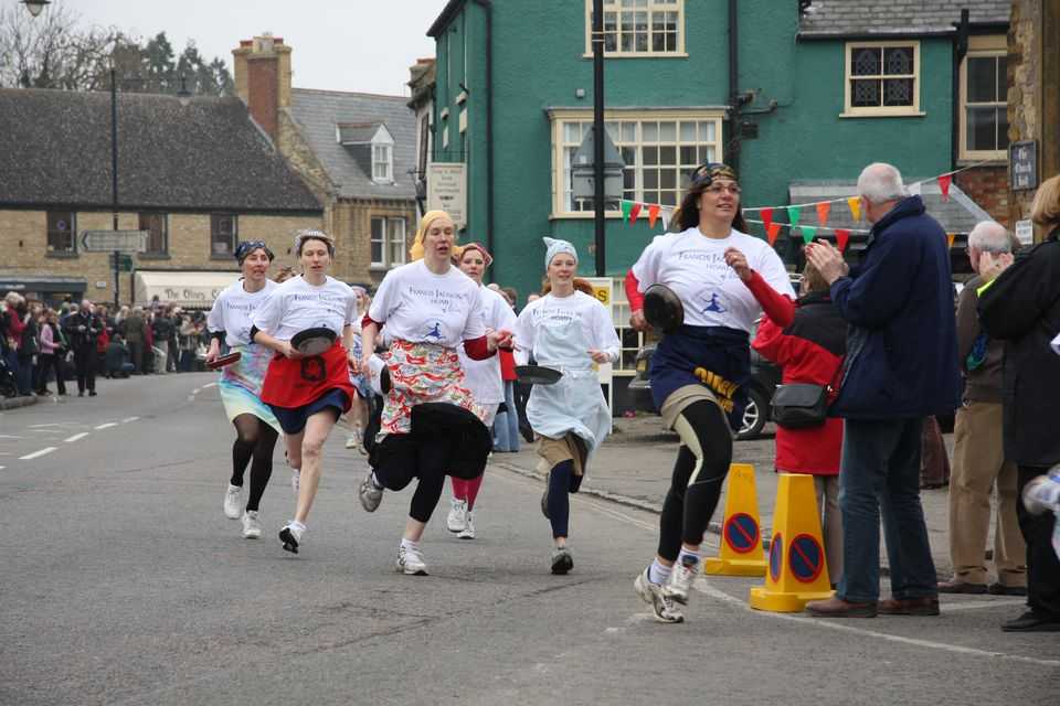 Olney Pancake Race