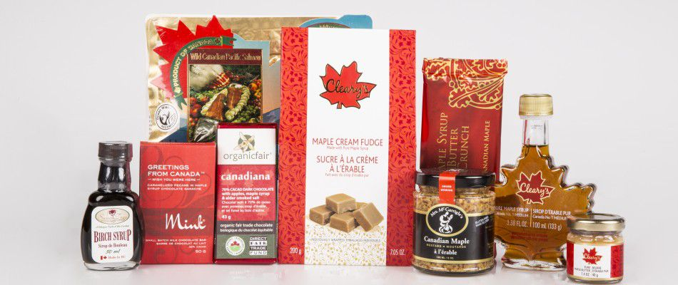 Maple products at Edible Canada, Vancouver, BC