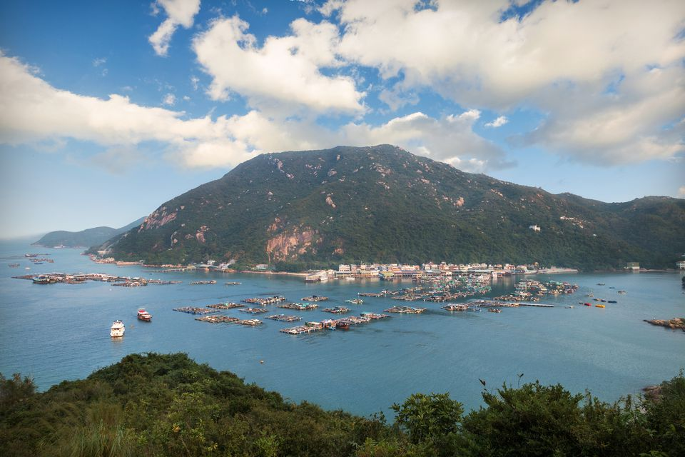 Lamma island in hongkong