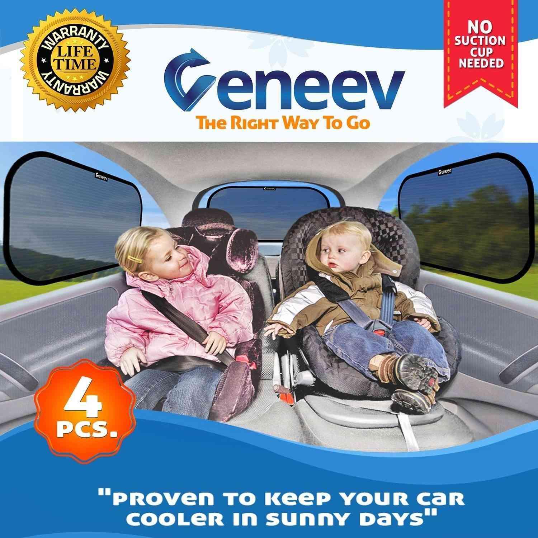 81484d52554 Best for Rear Window  Veneev Car Sun Shade for Side and Rear Windows