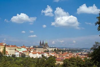 Find Prague\'s Location on a Map
