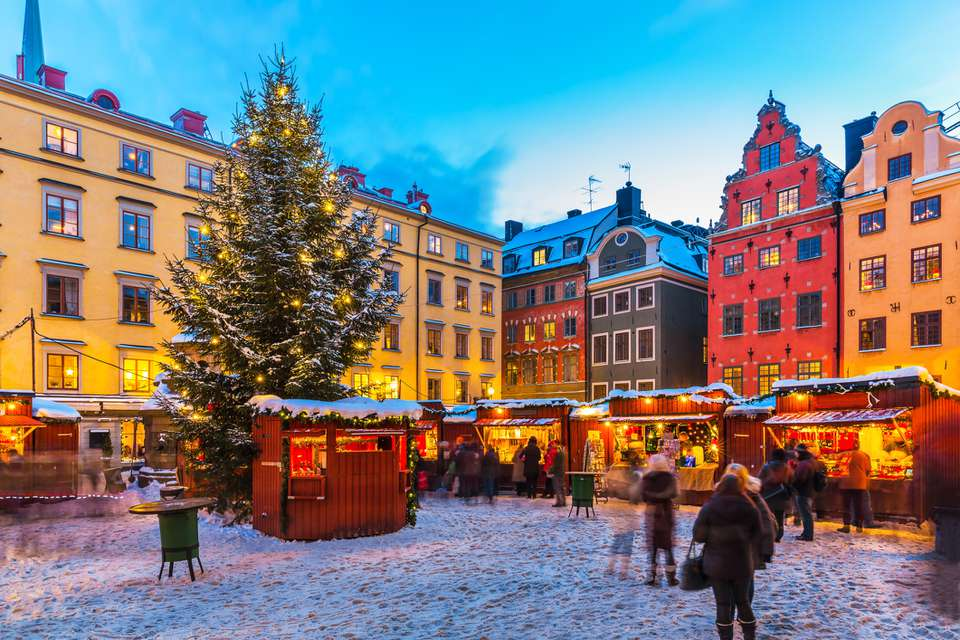 Christmas In Sweden.How To Say Merry Christmas In Swedish