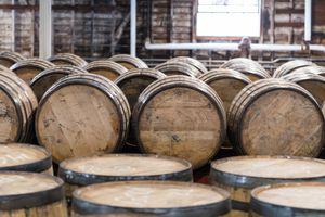 Bourbon Barrel Storage Room