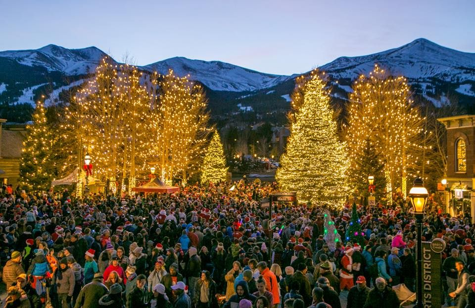 Lighting of Breckenridge Colorado