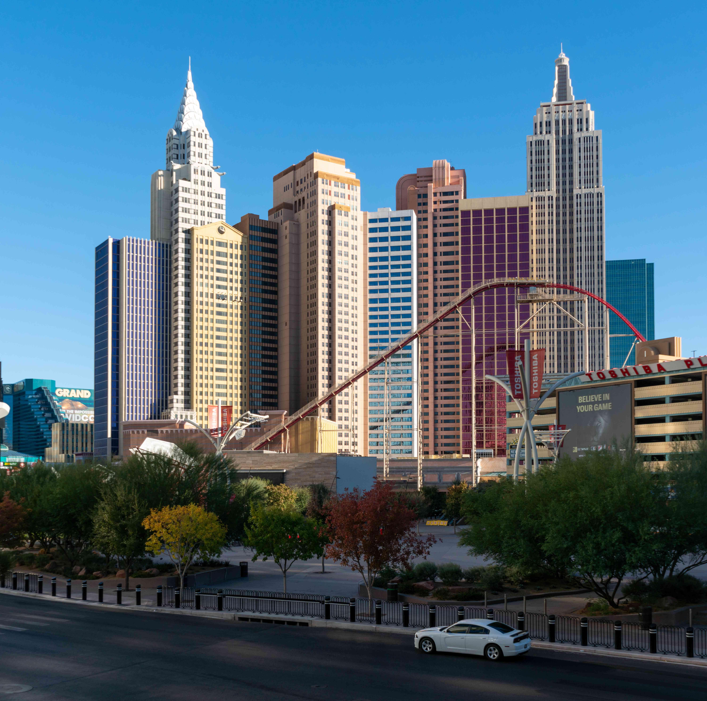 Big Apple Roller Coaster at New York New York, Las Vegas