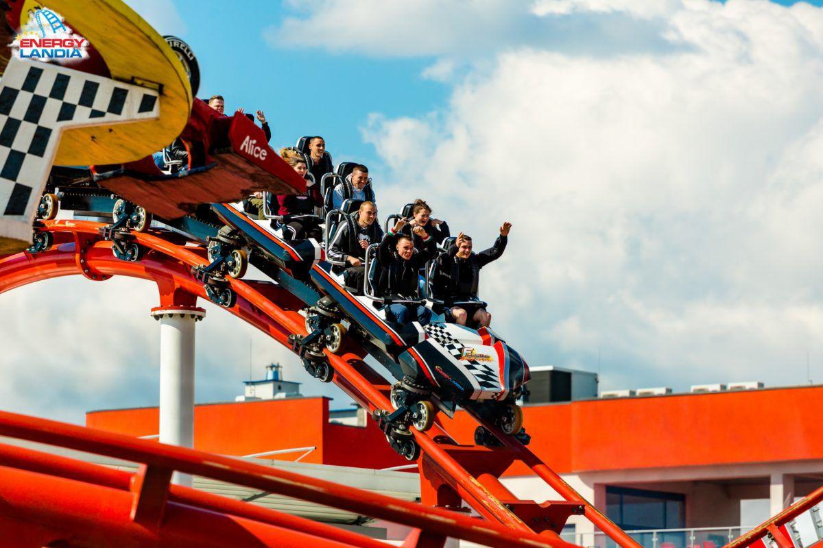 Energylandia theme park Poland