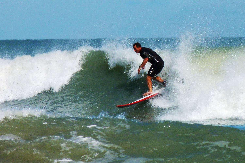 Cocoa Beach surfing