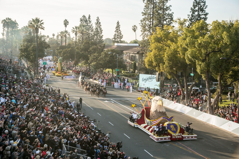2018 Tournament Of Roses Parade Presented By Honda