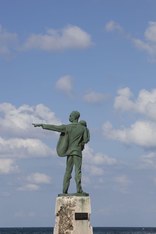 Elian Gonzalez Monumennt in Havana, Cuba