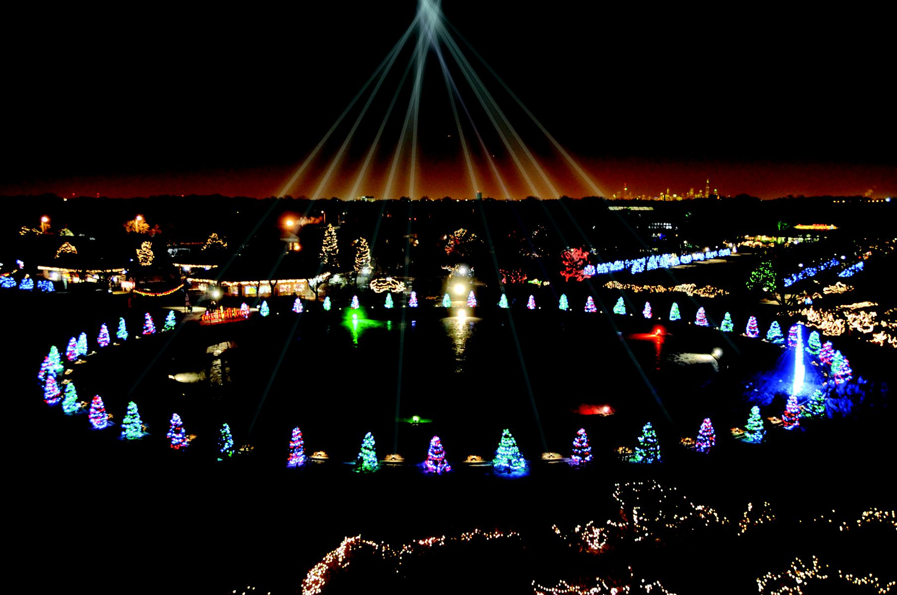 Brookfield Zoo Holiday Magic Christmas In Chicago