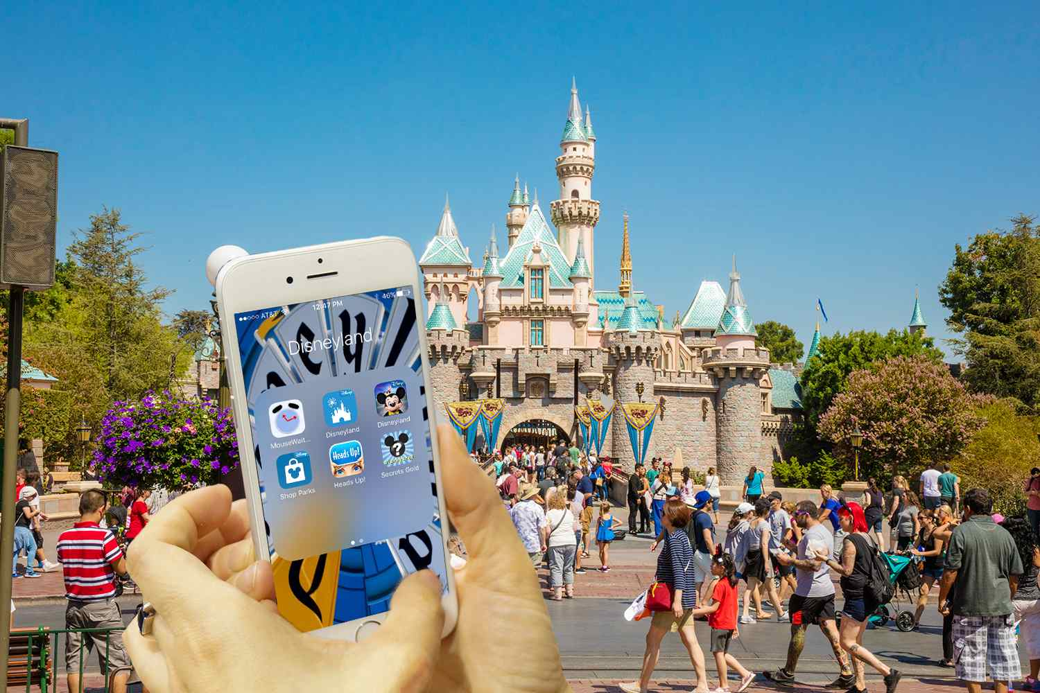 Best iPhone Apps for Disneyland California on