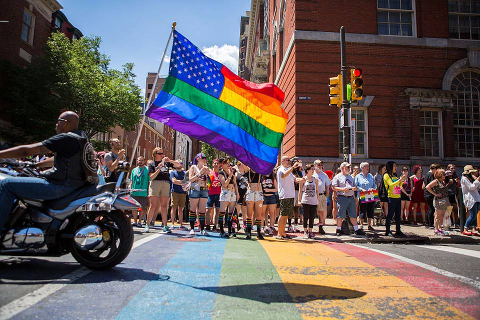 2016 Gay Pride Parade Marches Through Philadelphia