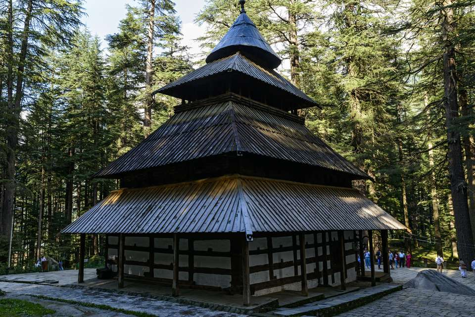 Hadimba temple, Manali.