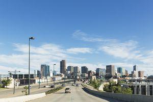 USA, Colorado, Denver, Highway, Interstate 25