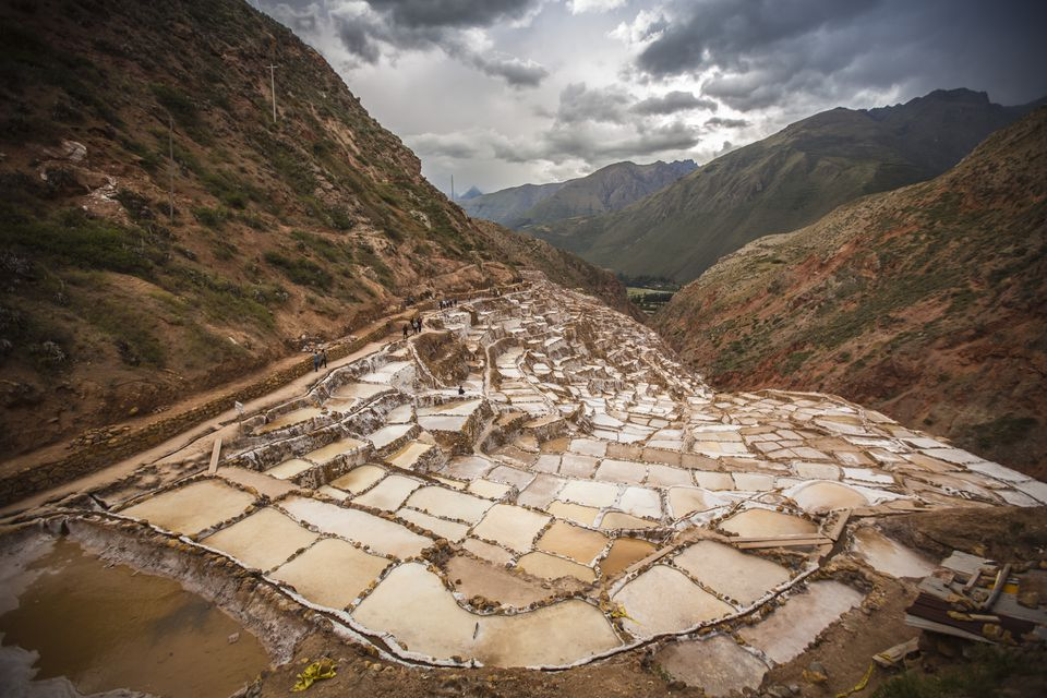 Maras Salt mines - Sacred Valley - Cusco - Peru