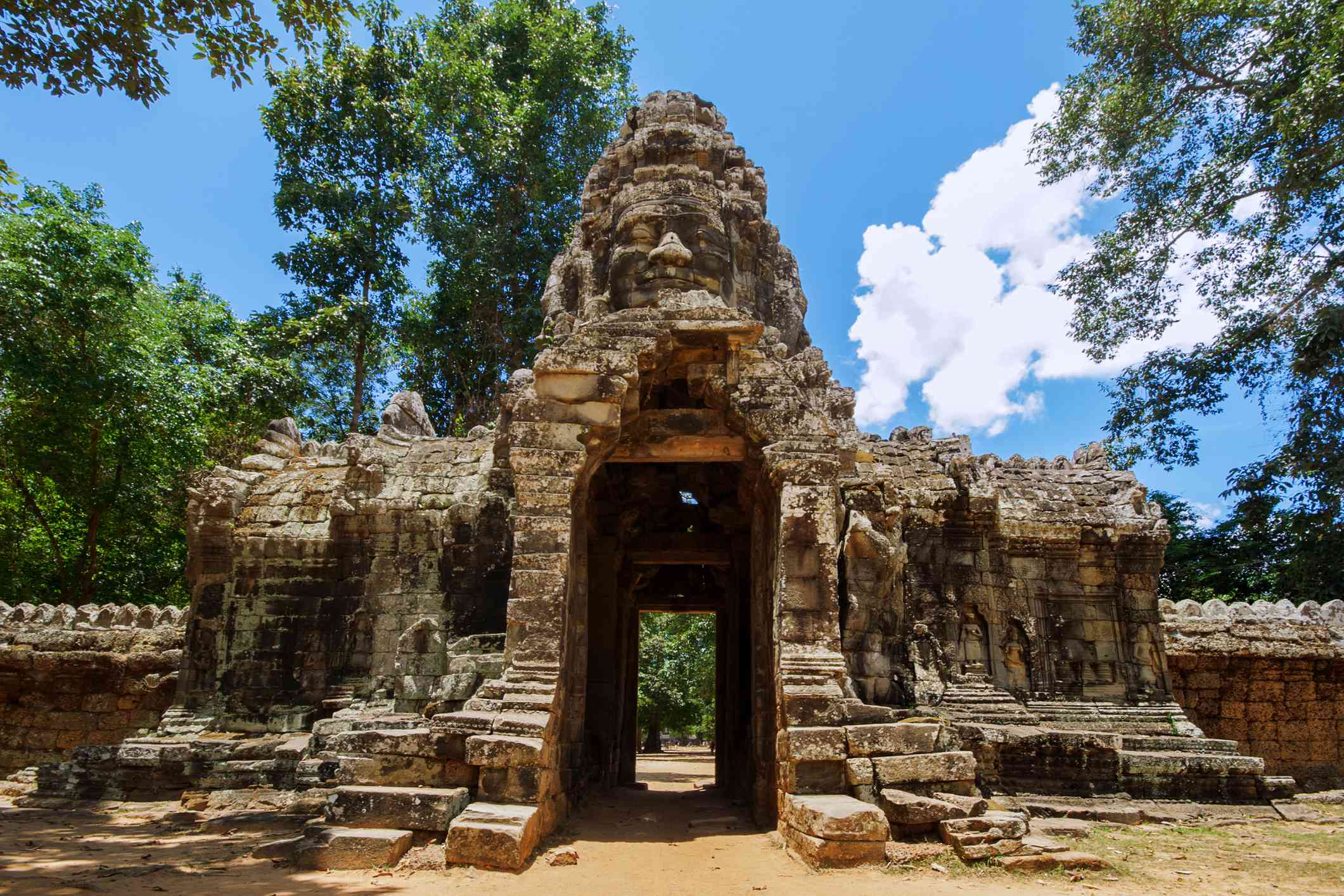 The Entrance Gate of Banteay Kdei