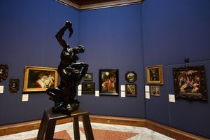 The Scottish National Gallery of Modern Art in Edinburgh