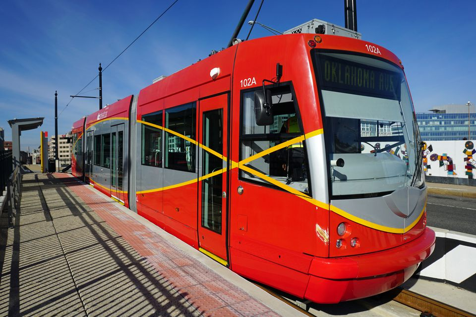 DC Streetcar on H Street NE, Washington, D.C.