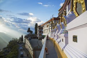 Darjeeling, Druk Sangag Choeling Monastery (Dali Monastery)