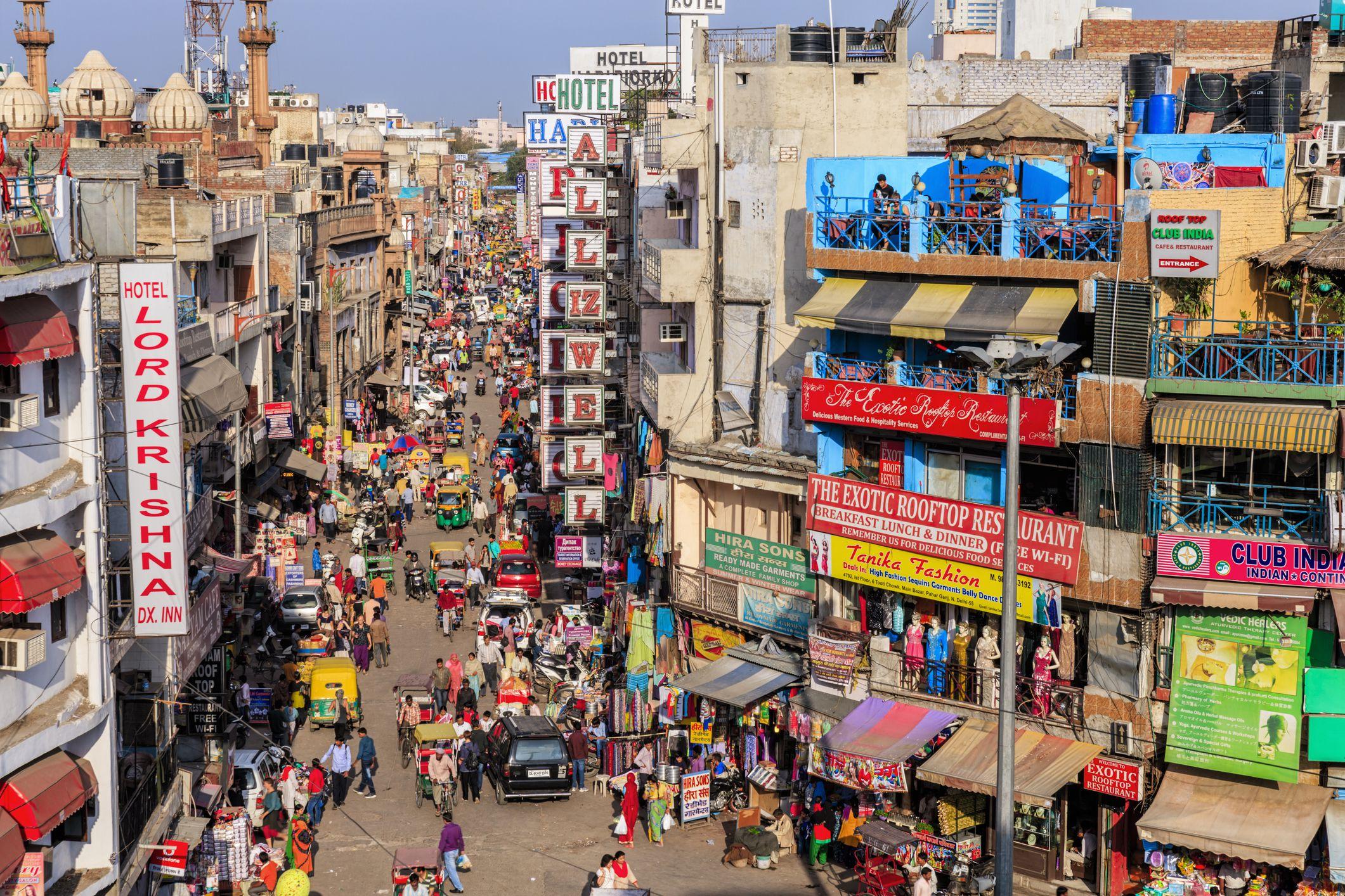 Main Bazar, Paharganj, Nueva Delhi, India