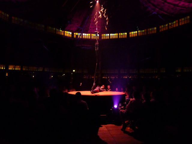 Dazzling Acrobatics At Absinthe The Show