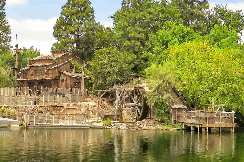 Pirate's Lair at Disneyland